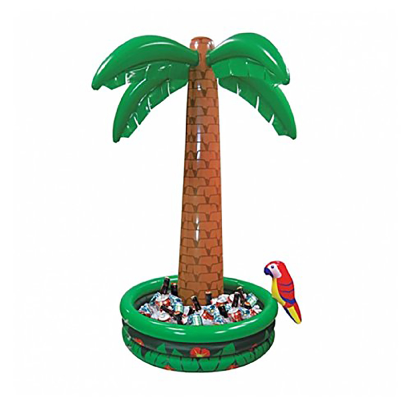 180 CM Grand Gonflable De Noix De Coco Palmiers Boissons Refroidisseur Seau À Glace D'été Plage Décorations Piscine Faveurs Hawaii Série