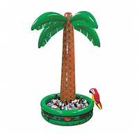 180CM Large Inflatable Coconut Palm Trees Drinks Cooler Ice Bucket Summer Beach Decorations Swimming Pool Favors Hawaii Series