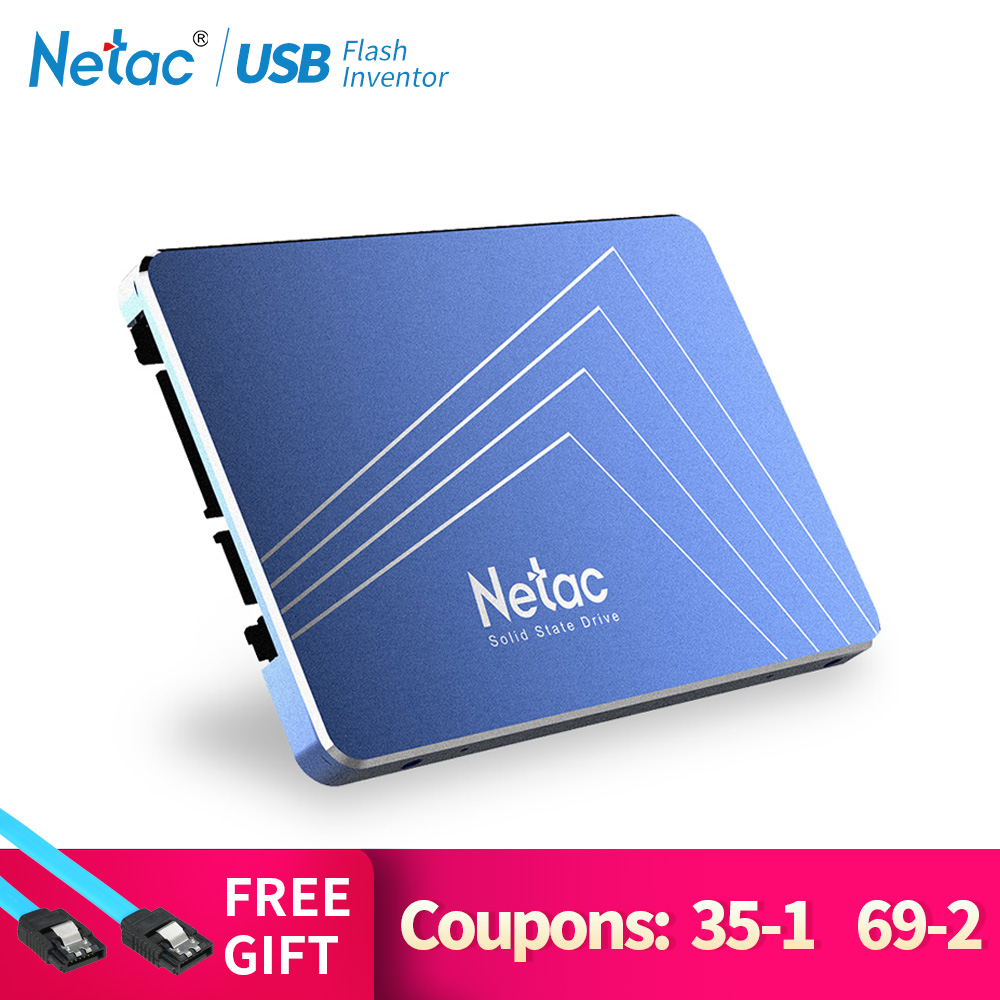 Netac N500S SSD 240 GB 2,5 ''480 GB SSD 120 GB 1 TB Festplatte TLC 60 GB Interne solid State Drive 720 GB Laptop Computer Festplatte