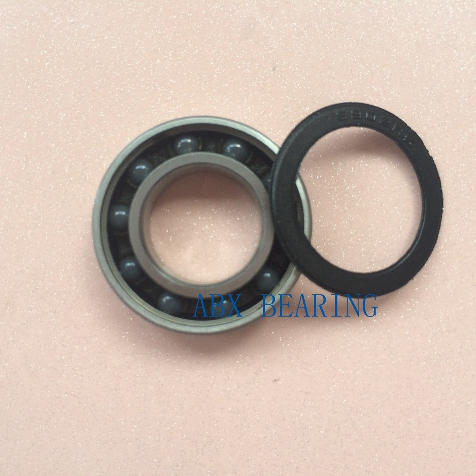 6902-2RS 6902 61902 hybrid ceramic deep groove ball bearing 15x28x7mm sensas rotaugen