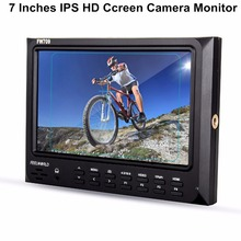 Feelworld FW-709 7 Inches IPS HD screen On-Camera Field Monitor Support GH4,A7RII,A7SII,A7R,A7S,5D mark III, 7D,D800,C100,C300