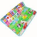 180*150*0.5 cm Esteira Do Jogo Do Bebê Double-Sided, Rastejando Ginásio Desenvolvimento Pad Puzzle Brinquedo do Miúdo tapete de Espuma Eva Tapete Macio Chão para As Crianças
