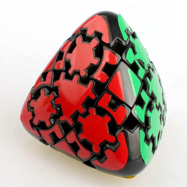 Lanlan 80mm 3x3x3 Engrenagem Mastermorphix Engrenagem Magic Cube Velocidade Enigma Do Jogo Cubos Brinquedos Educativos Para crianças Crianças Presente de Aniversário