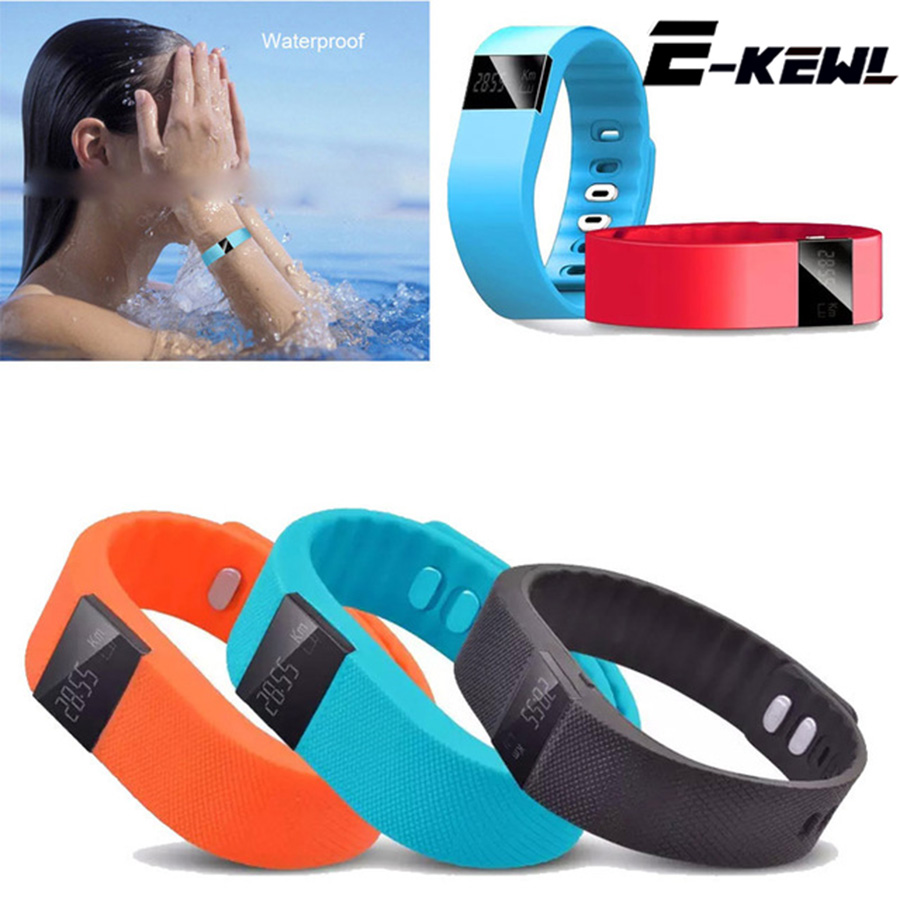 TW64 Fitness Tracker Bluetooth Smart band Sport Bracelet Smart Wristband smart watch For iPhone IOS font