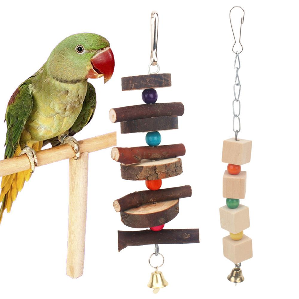 PipiFren Parrots Toys And Accessories For Bird Swing Supplies Stand Budgie For Parakeet Cage Decoration African Grey pappagalli
