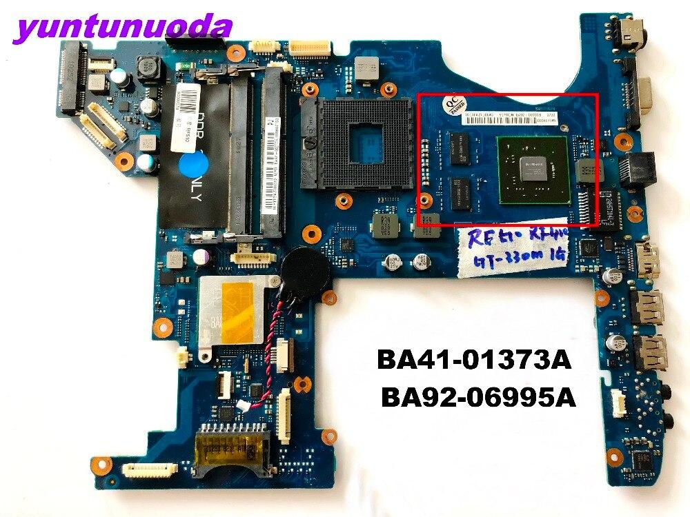 D'origine pour Samsung RF510 carte mère BA41-01373A BA92-06995B testé bonne livraison gratuite connecteurs