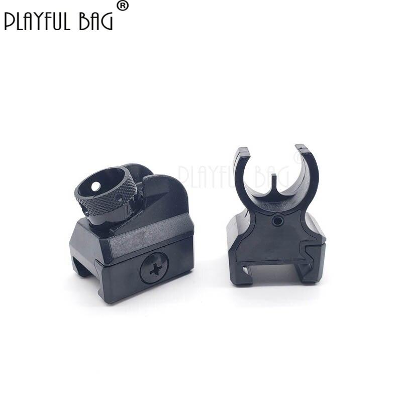 Playful Bag Tactics DIY Cs Shooting Competitive Toy 416 Before And After Suit Outdoor Modification Upgrade Gel Ball Gun QD20