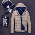 Men Winter Cotton Jacket Fashion thicken Warm Cotton Padded Coat  Parkas Men Big Size 4XL