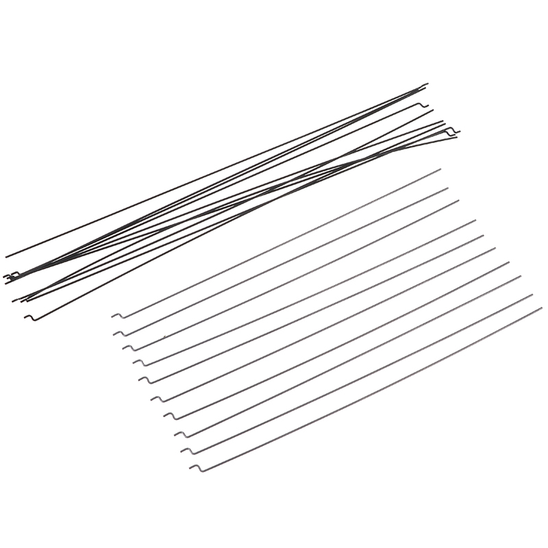 10pcs Z Type D1.2mm Push Rod Steel Wire Push Pull Rod Pushrod For Rc Aircraft Airplane Pull Push Connecting Rod