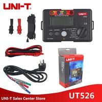 UNI T UT526 Multi function digital electric meter Electrical Insulation Tester UT526 Earth Resistance Meter+RCD Test Machine