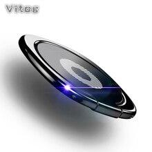 Moblie الهاتف حلقة حامل ل فون Xs ماكس X سامسونج S10 مقبض الهاتف البنصر دعامة حامل المغناطيسي سيارة حامل الخليوي المحمول