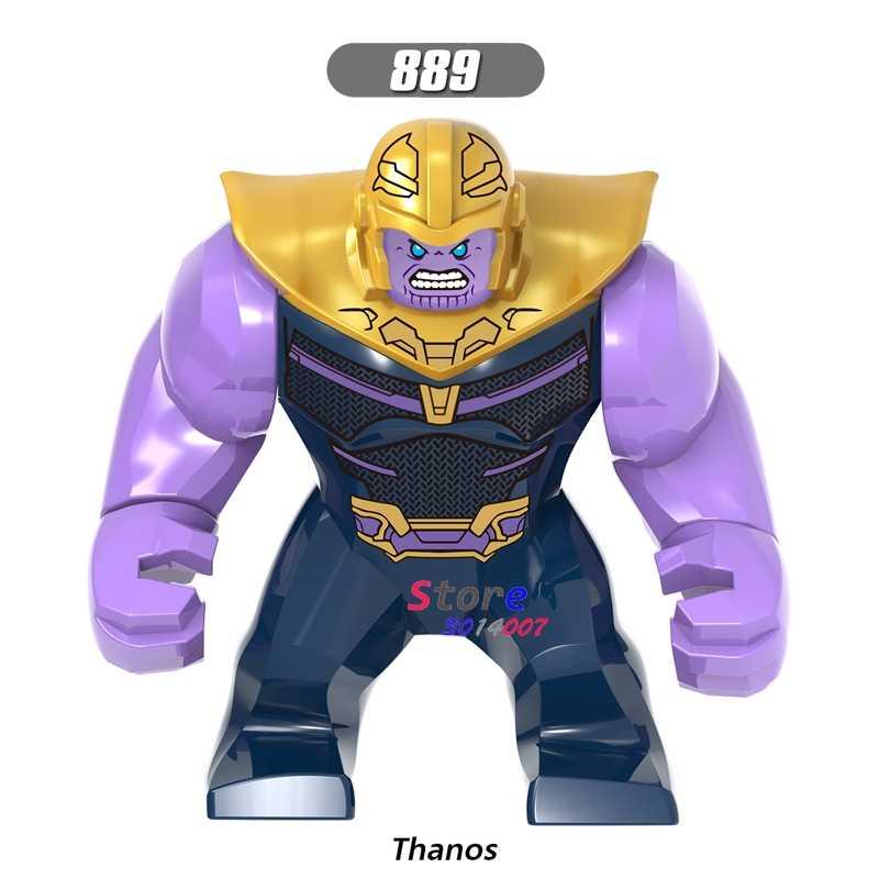 Único Infinito Guerra Super Heróis Vingadores 7 CM Tamanho Grande Hulk Thanos Abater Obsidiana figura modelo building blocks brinquedos para crianças