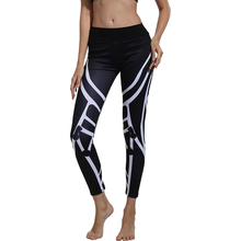 ZOGAA spring and summer new striped print fitness pants high waist hip running womens sweatpants