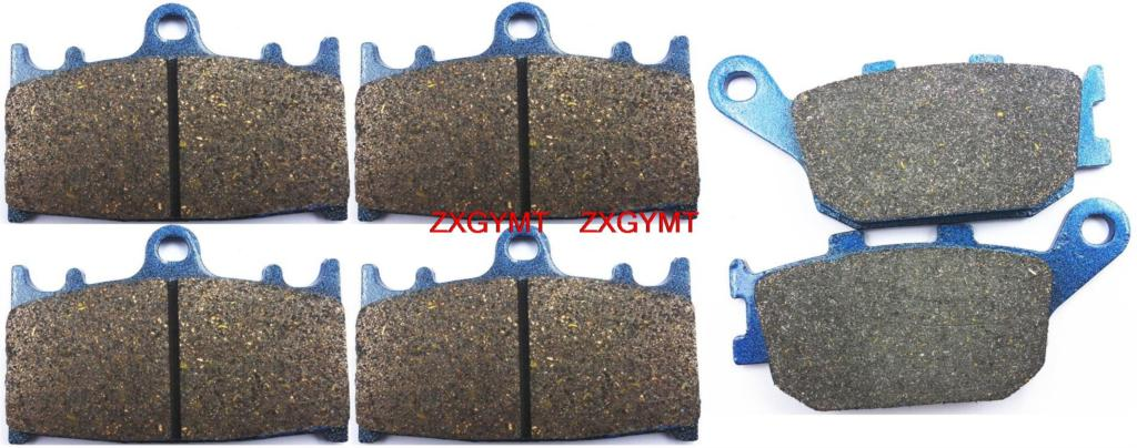 Motorcycle Resin Disc Brake Pads Set fit for SUZUKI GSF1250 GSF 1250 Bandit ABS 2006 motorcycle disc brake pads fa473 fit for can am spyder rs ses 990cc 08 09 phantom black
