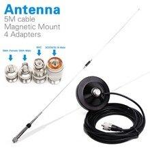NAGOYA NL 770R Dual Band VHF/UHF 144/430 MHz 3.0/5.5 dBi Ad Alto Guadagno Amatoriale Autoradio mobile/Stazione di Antenna adattatore Opzionale