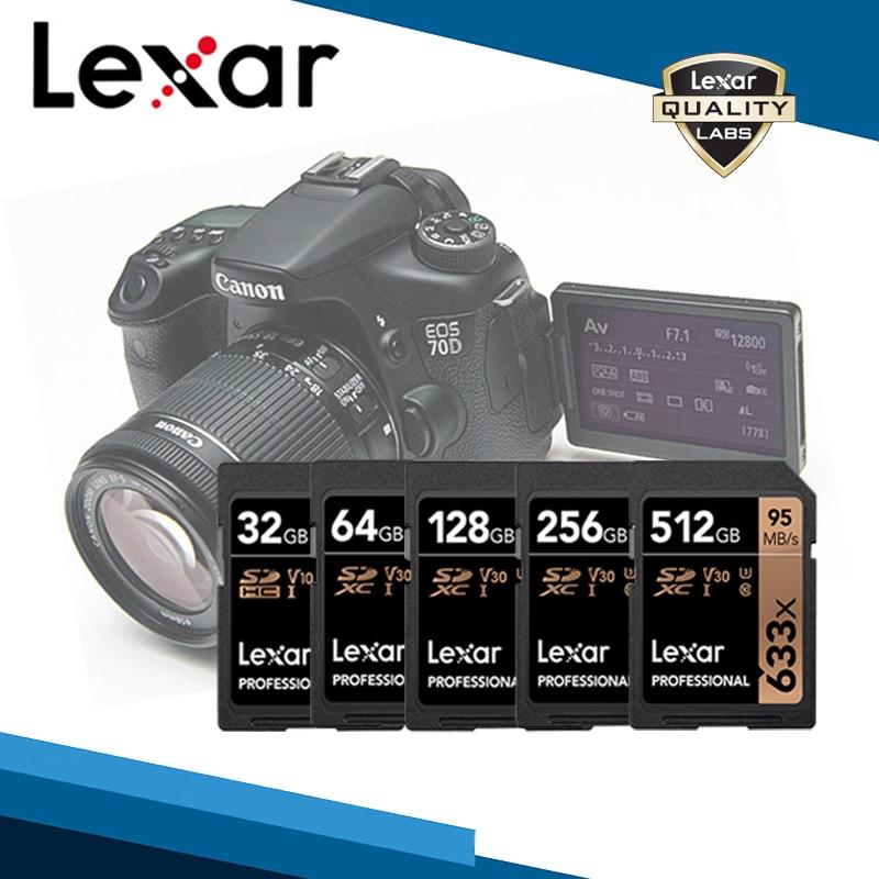 SD-карта Lexar 633x, 64/128/256 ГБ