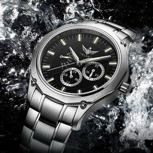 Image 5 - YELANG Tritium Montre pour hommes montres à Quartz T100 lumineux Auto Date Flyback étanche Sport Montre bracelet Montre Relogios V1027