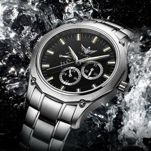 Image 5 - YELANG Tritium Watch For Men Quartz Watches T100 Luminous Auto Date Flyback Waterproof Sport Wristwatch Montre Relogios V1027