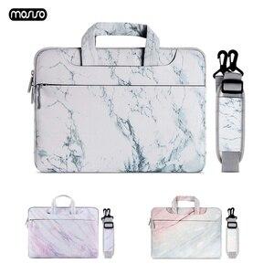 MOSISO Bolsa Para Laptop Saco de Manga 13.3 Notebook 14 15 15.6 Polegada Para Macbook Air Pro 13 15 Dell Asus HP acer Caso Laptop Bolsa de Ombro