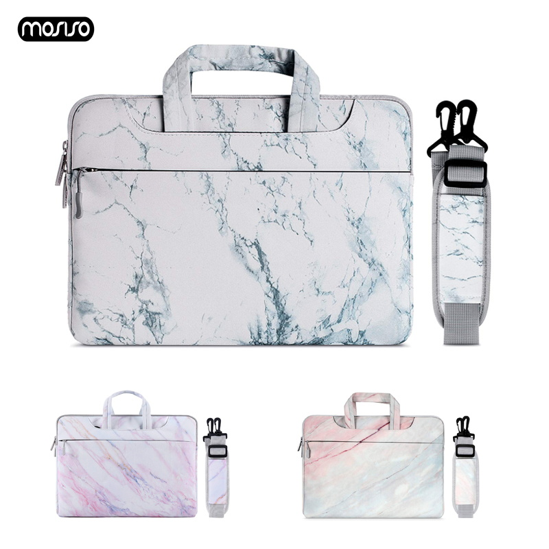 MOSISO Laptop Bag Sleeve 13.3 14 15 15.6 Inch Notebook Bag For Macbook Air Pro 13 15 Dell Asus HP Acer Laptop Case Shoulder Bag-in Laptop Bags & Cases from Computer & Office