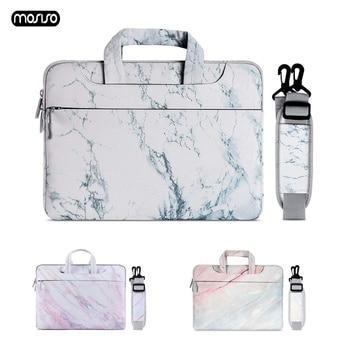 цена на MOSISO Laptop Bag Sleeve 13.3 14 15 15.6 Inch Notebook Bag For Macbook Air Pro 13 15 Dell Asus HP Acer Laptop Case Shoulder Bag