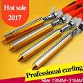 13-31mm titanium del pelo rodillos del pelo waver wave rizador de pelo magia herramientas de peinado profesional rizador de 110-240 v