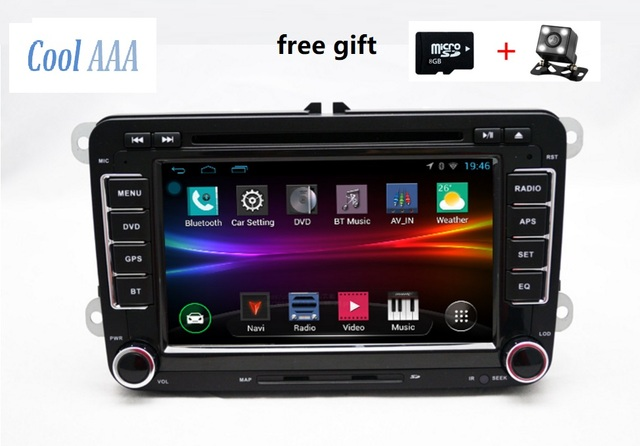 RNS510 VW radio DVD android 6 0/8 1 HD 1024X600 For Golf 5 6 Jetta Mk5 Mk6  Passat CC Tiguan polo Eos 3g wifi blue tooth