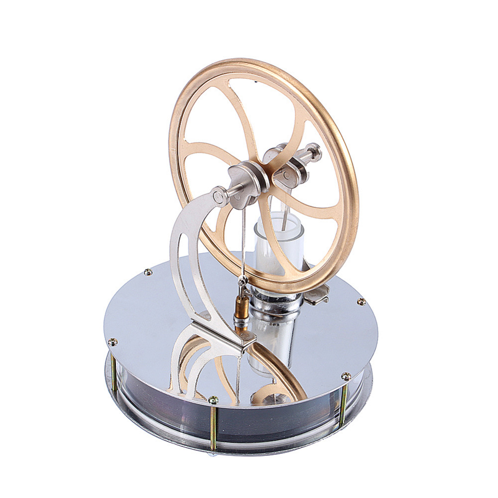 Image 2 - Low Temperature Stirling Engine Motor Steam Heat Education Model Heat Steam Education Toy  For Kids Craft Ornament Discoverygifts for kidsgift giftsgift toys -