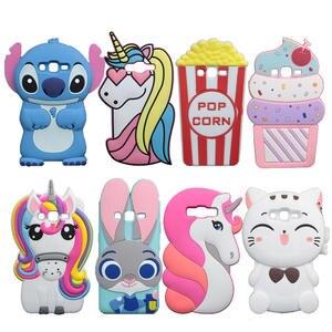 Cute Rabbit Soft Case For Samsung Galaxy J2 Prime G532 Grand Plus