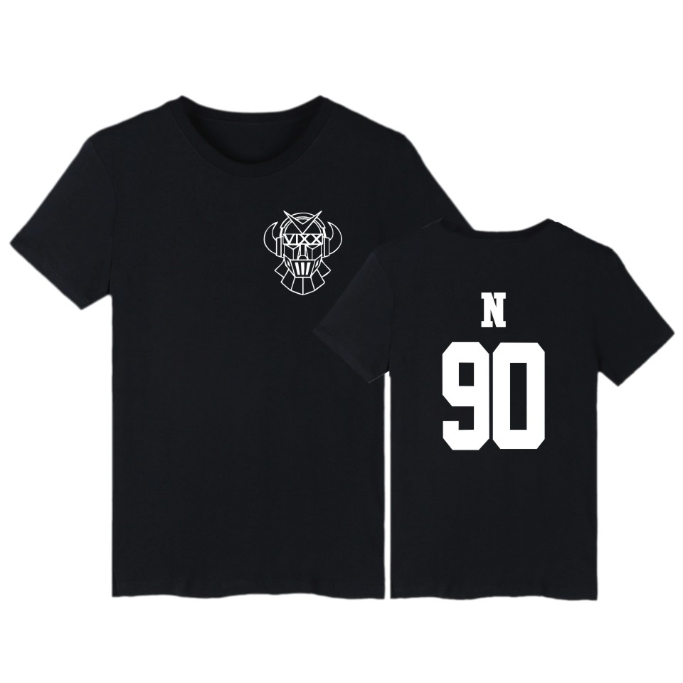 تی شرت تابستانی Kpop Vixx T آستین کوتاه ST RLIGHT تی شرت پنبه ای Harajuku پنبه VIXX HONGBIN HYUK KEN LEO N RAVI Plus اندازه Camiseta
