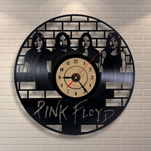 Creative CD Design Vinyl Record Clock Quartz Mechanism