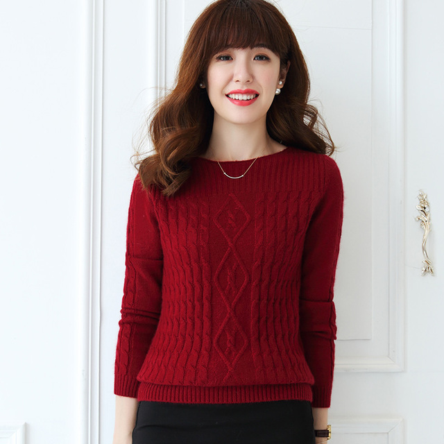 New Arrival Women Pullovers 100 Pure Cashmere Knitwear Hot Sale