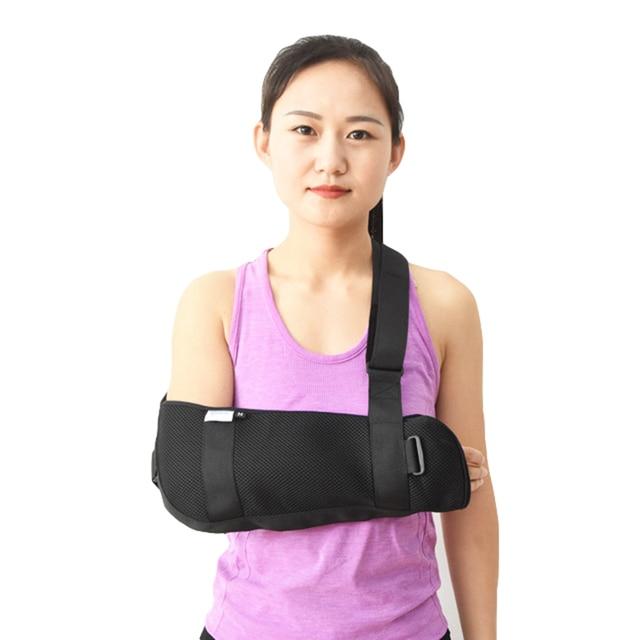 Brazo ortopédico médico eslinga hombro inmovilizador manguito rotador  muñeca codo antebrazo soporte correa de soporte ligero 4d26f7149600