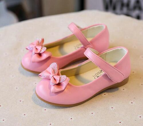 2018 Girl Dancing Shoes Wedding Shoes Princess Shoes Childrens Clothing Girls Trimming Childrens Flash Shoes