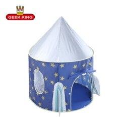 GEEK król przenośne dzieci dzieci PlayTents na zewnątrz ogród składany namiot do zabawy Pop-Up dzieci dziewczyna księżniczka zamek na zewnątrz namiot dla dzieci