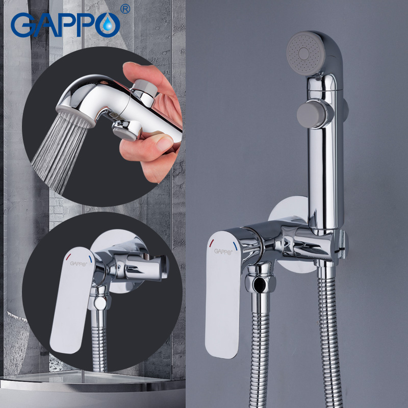 Image 2 - GAPPO Bidets bathroom toilet shower bidet portable bidet mixer muslim shower wall mount Spray ShattafBidets