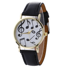 Scorching Sale College students Bracelet Watches Trend Musical Notes Girls Costume Wristwatches
