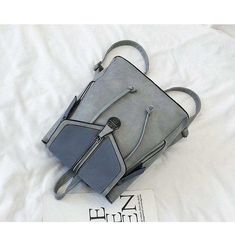 HTB11E6VbQ5E3KVjSZFCq6zuzXXab Vintage Matte Leather Women Backpacks High Quality Multifunctional Shoulder Bag Female Girls Backpack Retro Schoolbag XA533H