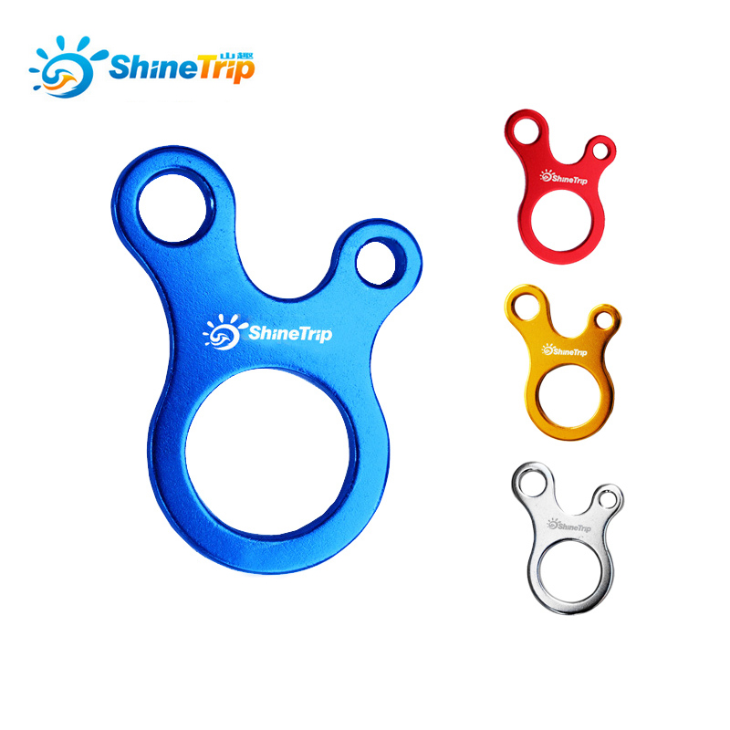 ShineTrip 5 Pcs/lot Camping Tent Wind Cord Rope Fastener Guy Line Runner Adjuster Carabiner Hook Hanger Tightener