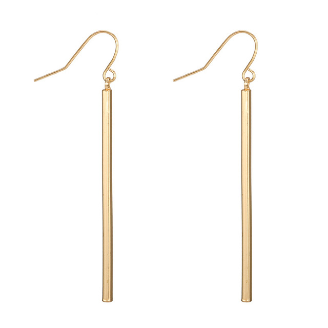 EK507 New Fashion European Punk Long Tassel Bar Drop Earring for Women Bijoux Ear Jewelry Minimalist.jpg 640x640 - EK507 New Fashion European Punk Long Tassel Bar Drop Earring for Women Bijoux Ear Jewelry Minimalist Brincos Geometric oorbellen