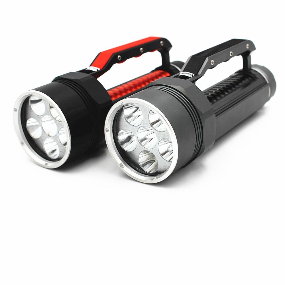 DL0049 6 CREE XM-L2 Diving flashlight (7)