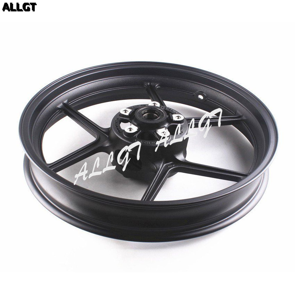 Motorcycle CNC Front Wheel Rim For Kawasaki Ninja ZX6R 2005 2012 & ZX10R 2006 2009