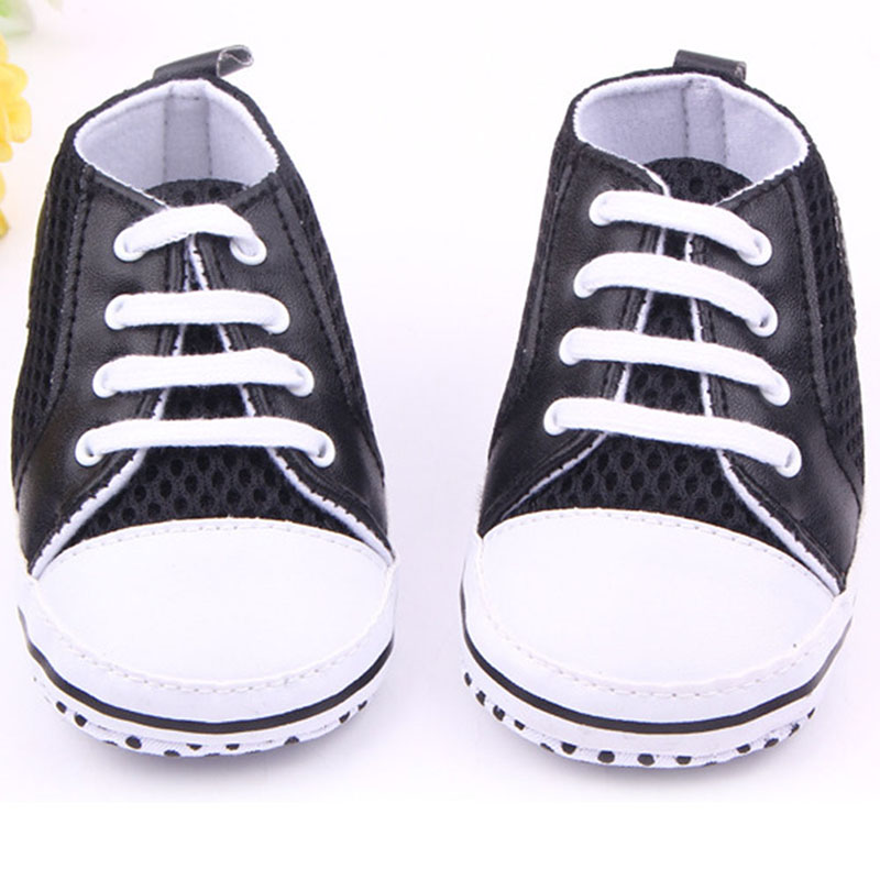 Multi-Color Toddler Baby Soft Sole Crib Shoes Boy Girl Breathable Mesh Shoes 0-12 M New ...