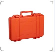 Inner size 339*207*67mm high quality orange color hard plastic tool box shockproof