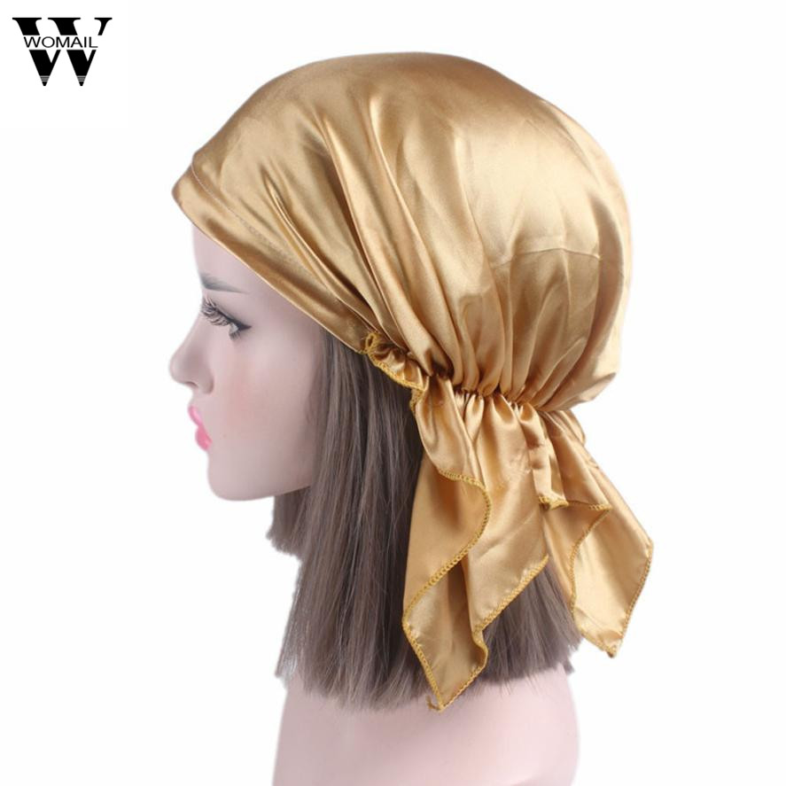 2017 Women Cancer Chemo Hat Beanie Scarf Turban Head Wrap Cap viruses cell transformation and cancer 5