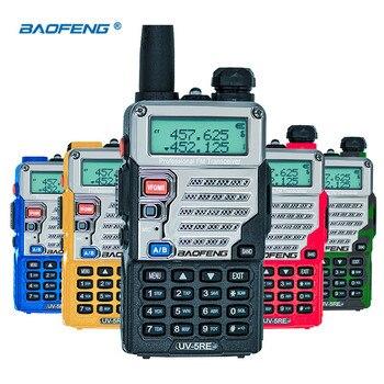 Baofeng UV-5RE Walkie Talkie UHF VHF CB Radio Station 128CH Two Way UV-5R Upgraded UV 5RE Portable Ham for Hunting - discount item  49% OFF Walkie Talkie