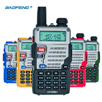 BaoFeng UV 5RE Plus Waterproof Long Range Wireless Portable Walkie Talkie Professional Dual Band VHF UHF136