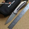 Bear Claw XL APEX Camping Knives Hunting Flipper Folding Knife S35VN Blade Tactical Titanium Handle Outdoor