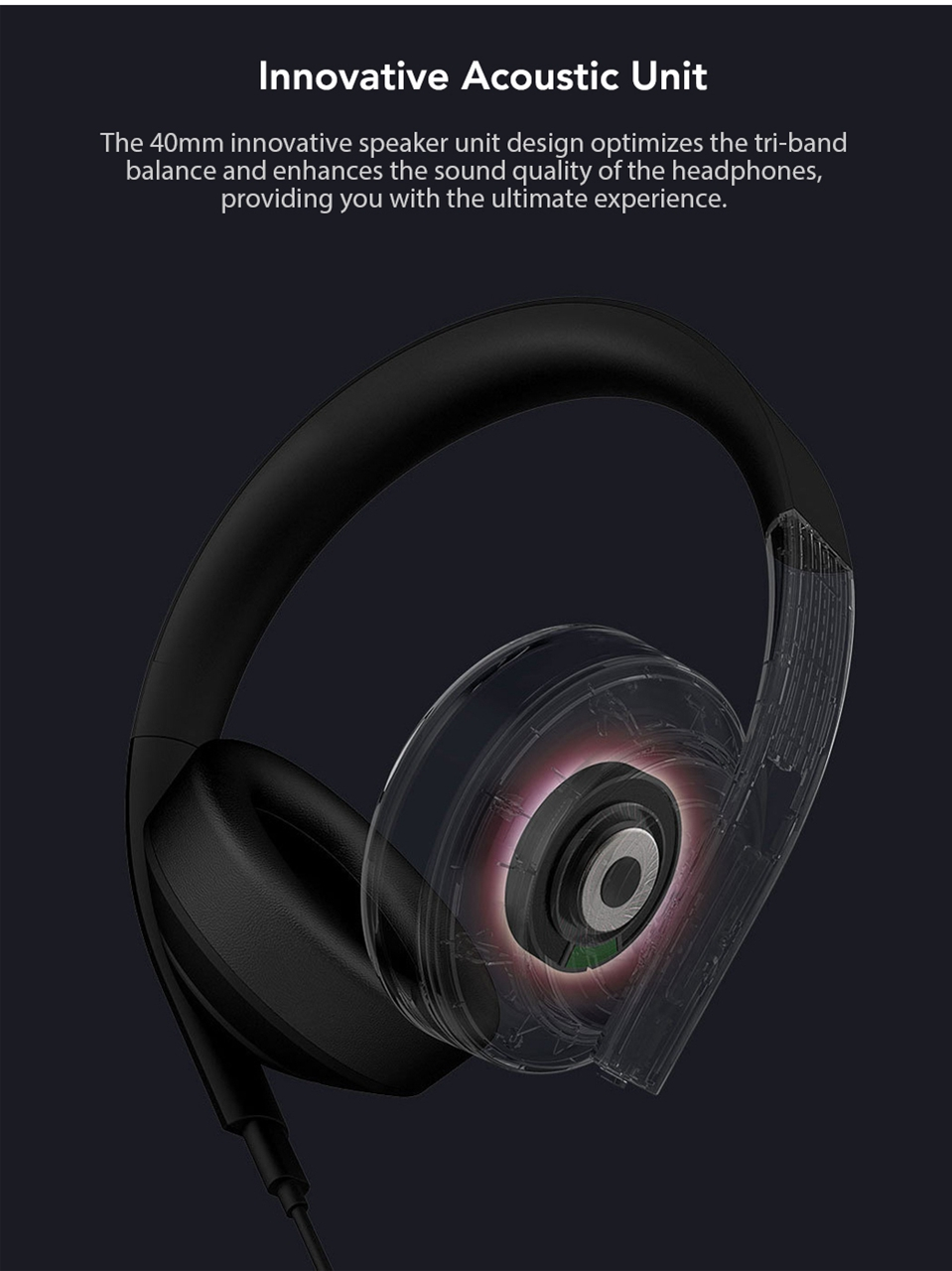 Xiaomi Gaming Headset 7.1 Surround Sound Grephene LED Headphone With Double Mic Noise Reduction Heavy Bass Stereo for PC (4)