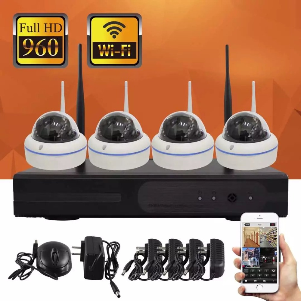 8CH CCTV System P2P Wireless 960P HD NVR With HD 1.3MP Outdoor Infrared Waterproof Wifi Security Camera System Surveillance Kit8CH CCTV System P2P Wireless 960P HD NVR With HD 1.3MP Outdoor Infrared Waterproof Wifi Security Camera System Surveillance Kit